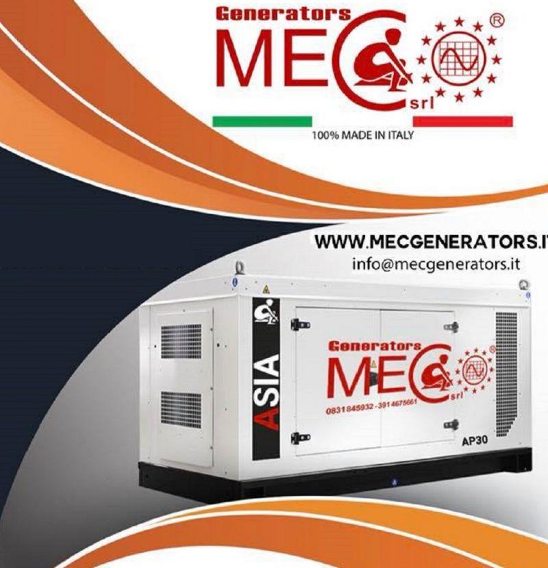 MEC GENERATORS Occasione progettazione e vendita generatori gruppi elettrogeni made in italy